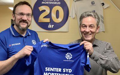 Senter Syd Mortensrud fortsatt hovedsponsor