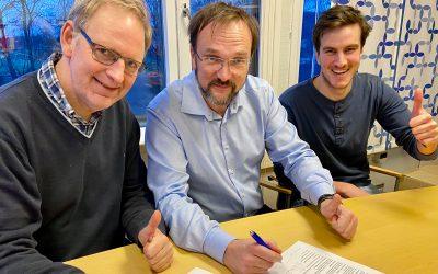 Avtale om ny stilling i idrettslaget signert