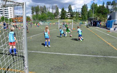 Gratis fotballskole for jenter 9.-13. august
